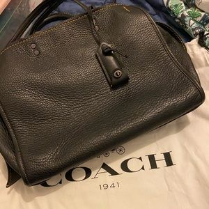 Beautiful black Coach bag